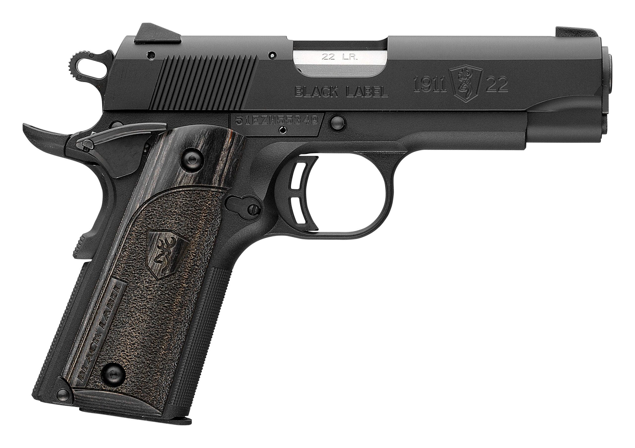 Browning 1911-22 handgun