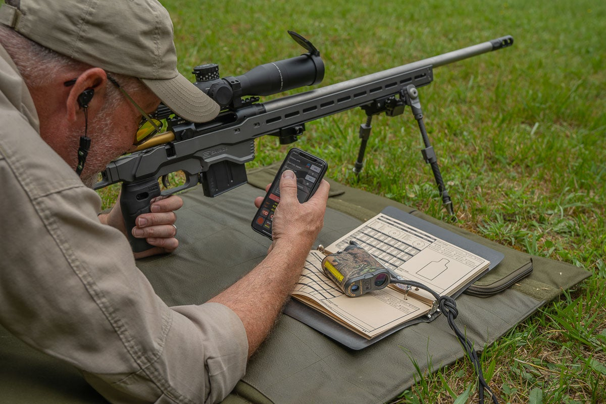 Ballistic Calculator for Long Range Shooting