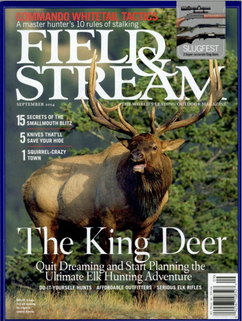 September 2004 cover of Field & Stream