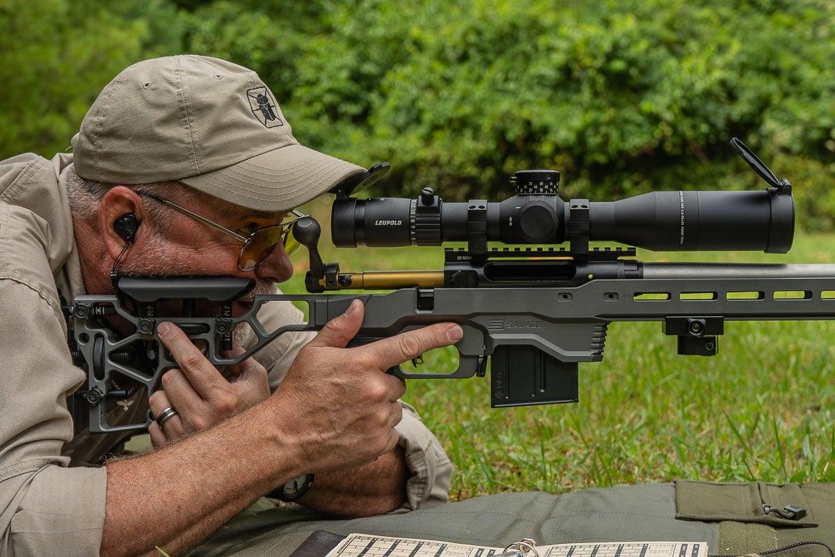 long range rifle features