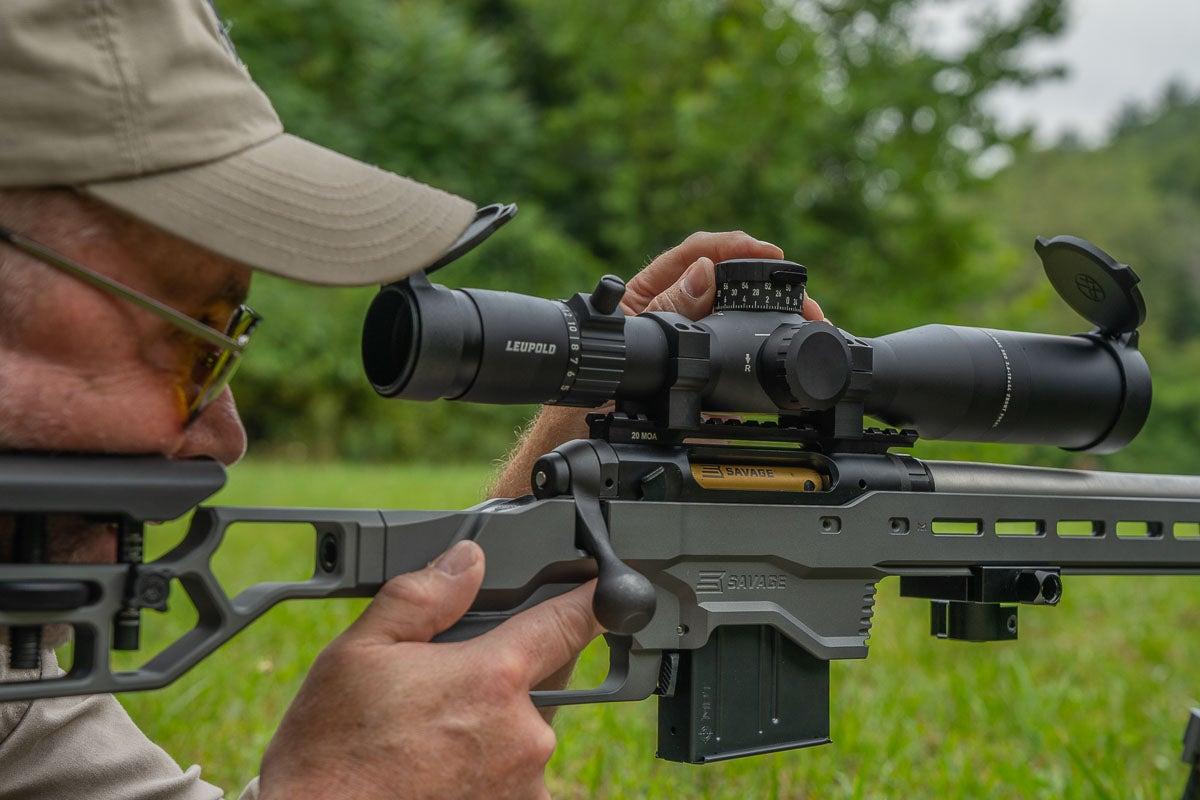 scope for long range rifle