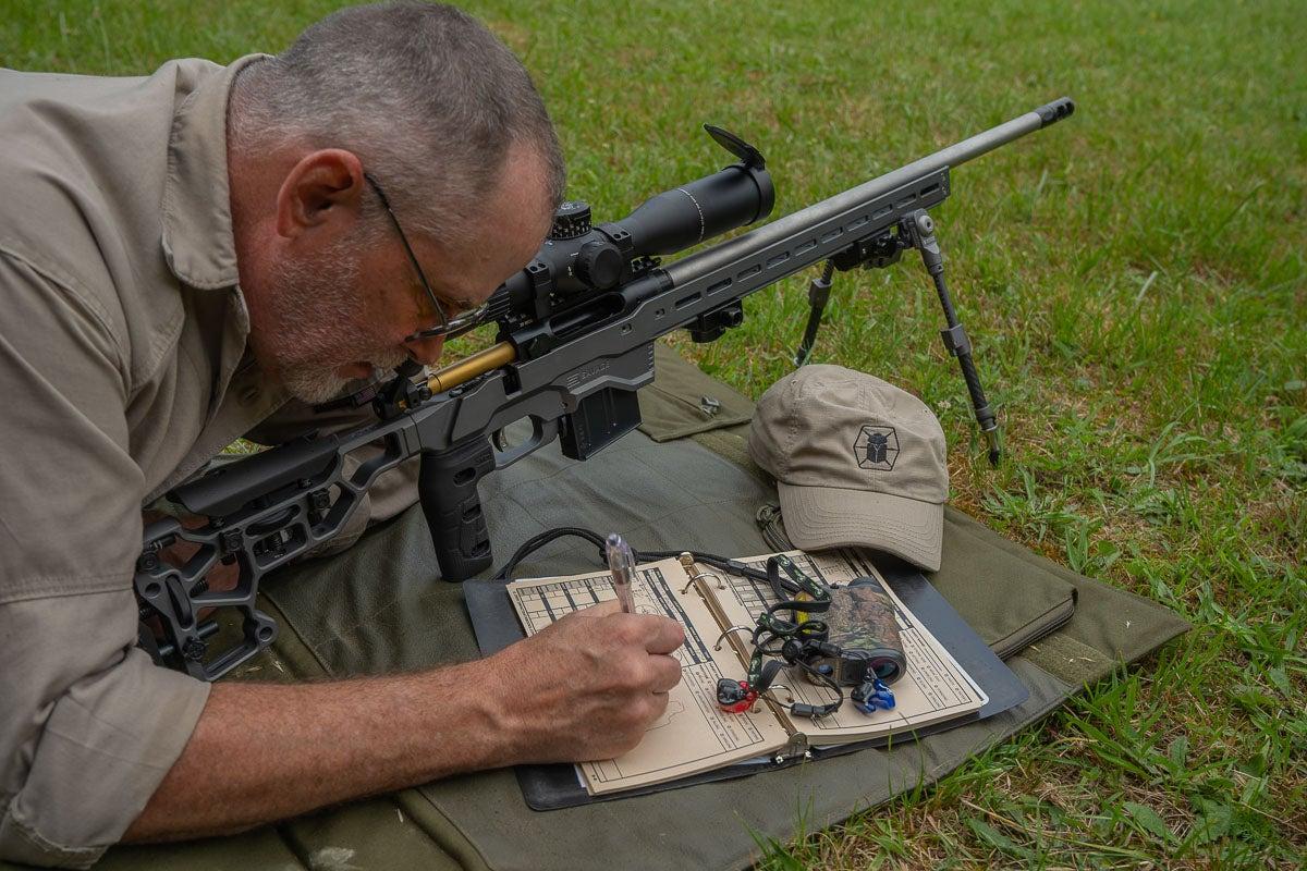 data book for long range shooting