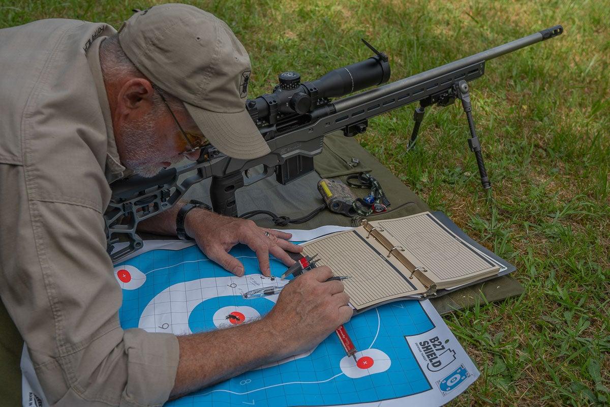 Zeroing Long Range Rifle