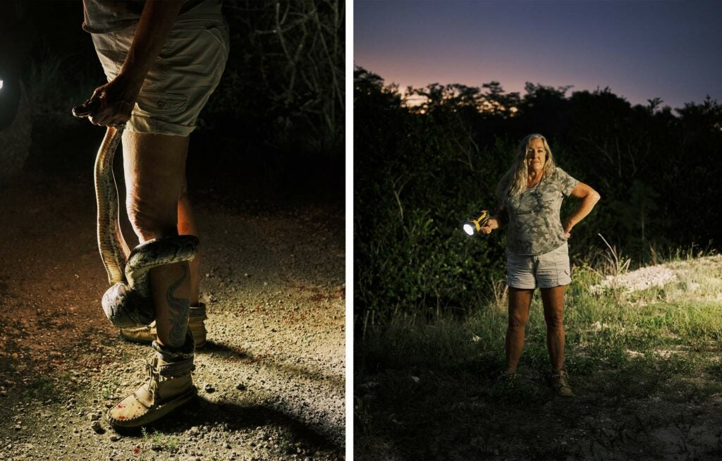Meet the Hunters Trying to Fix Florida's Python Invasion