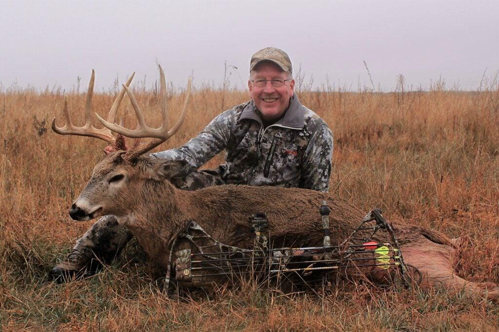 Scott Bestul with whitetail buck
