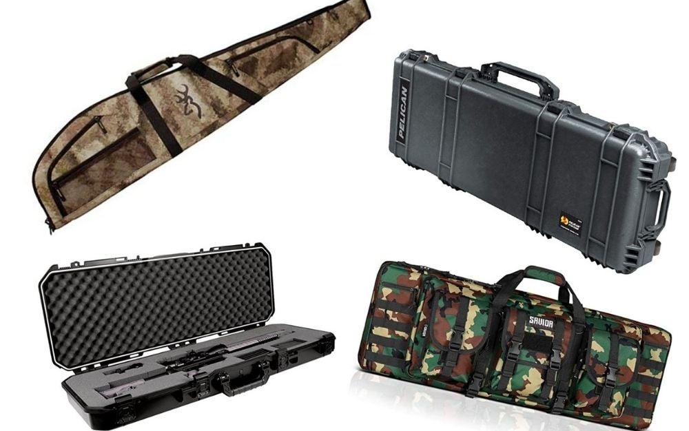 Rifle case collage