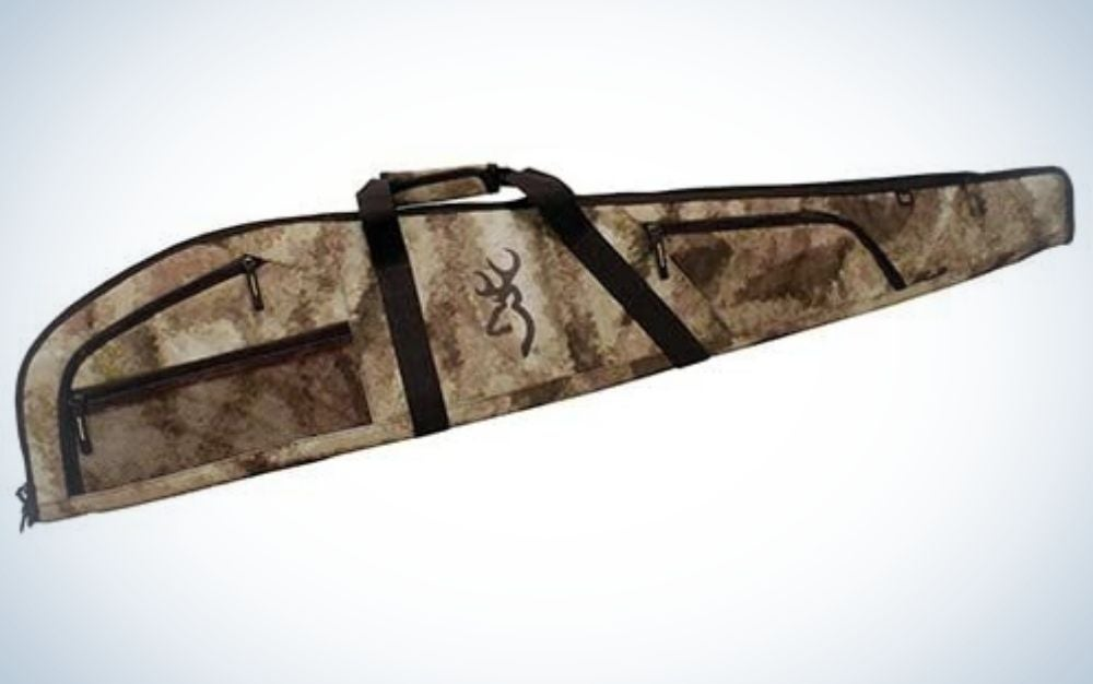 Browning is our pick for best rifle cases with soft material.