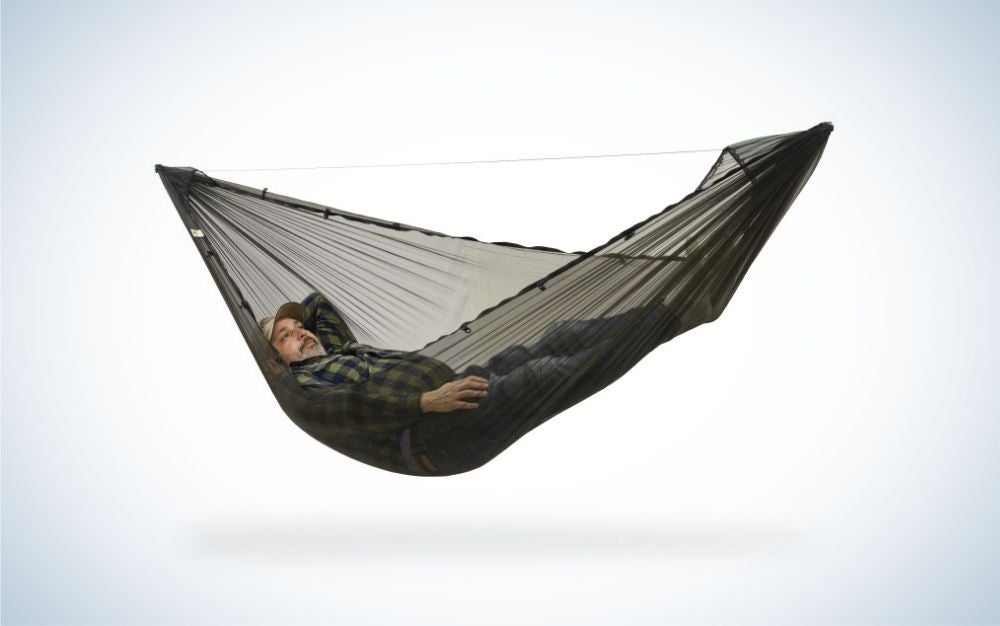 Dutchware Chameleon is the best camping hammock designed from the ground up