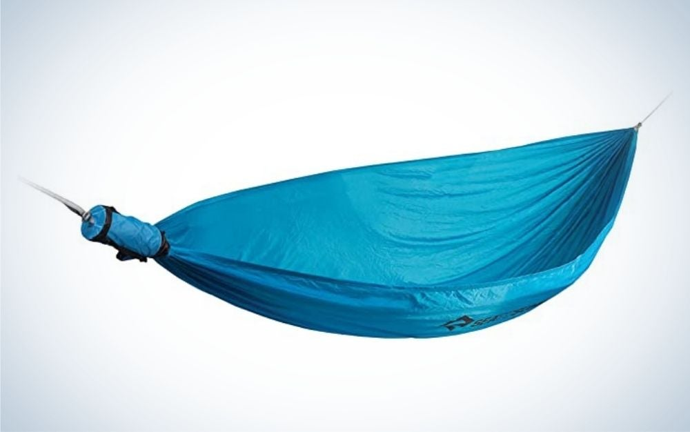 Sea to Summit Pro Hammock Set is the best camping hammock.
