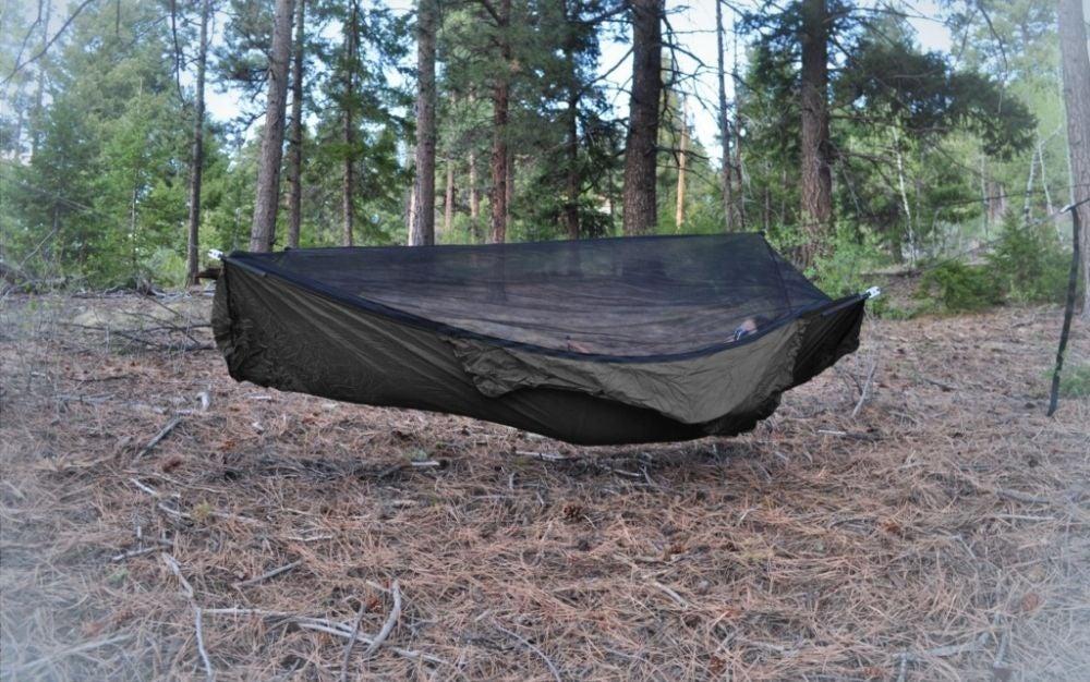 Warbonnet ridgerunner hammock is the best camping hammock.