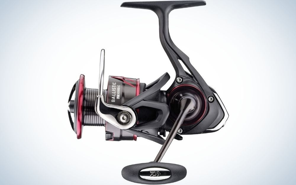 Daiwa Ballistic LT is our pick for the best spinning reels.