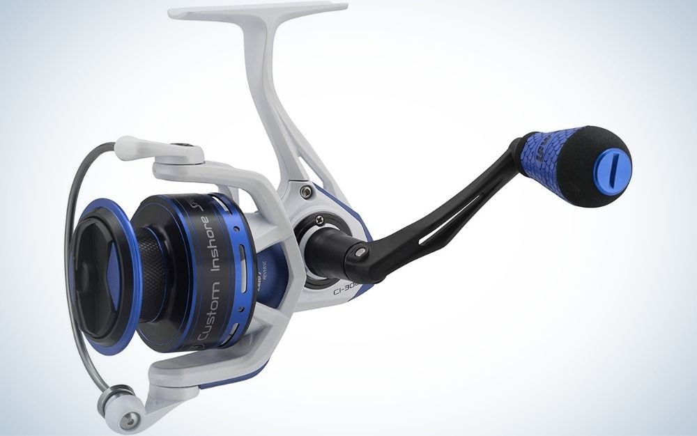 Lew's Custom Inshore Speed is our pick for the best spinning reel.
