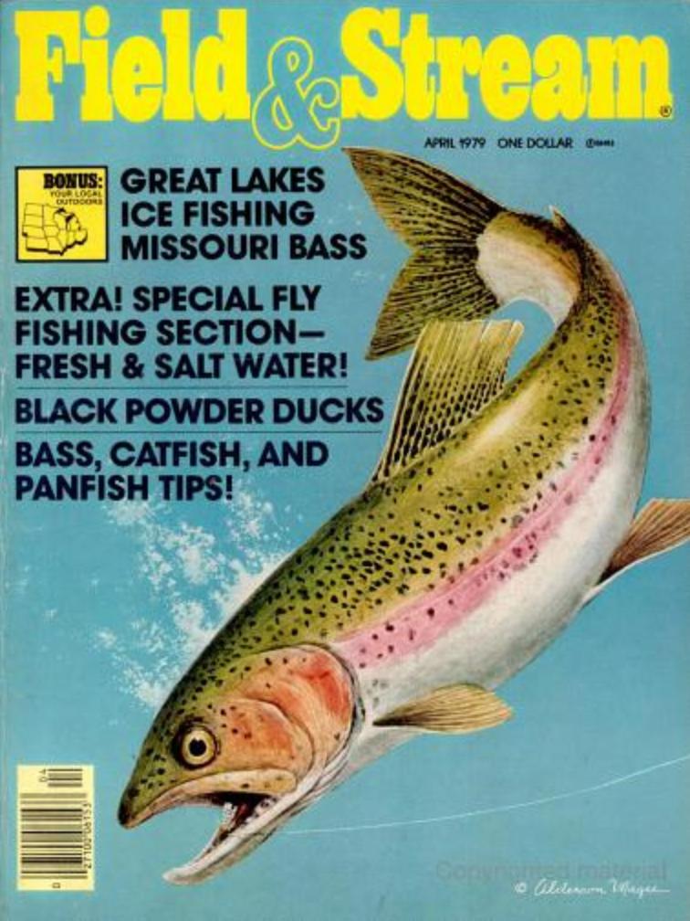 April 1979 cover of Field & Stream