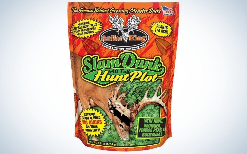 Slam dunk hunt is our pick for the best food plot for deer