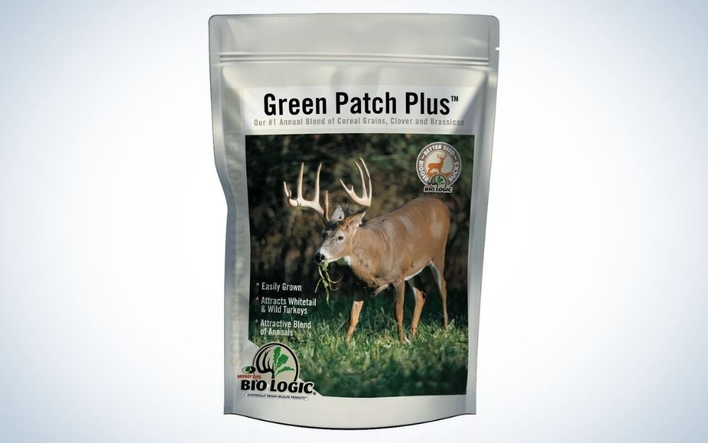 Green patch plus game is our pick for the best food plot for deer.