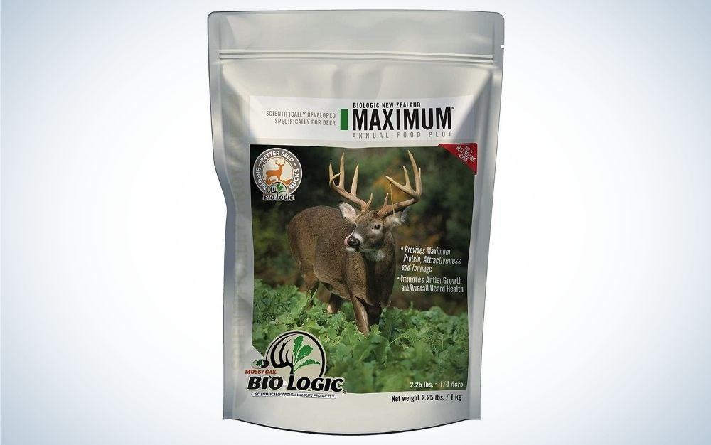 Biological food is our pick for the best food plot for deer.
