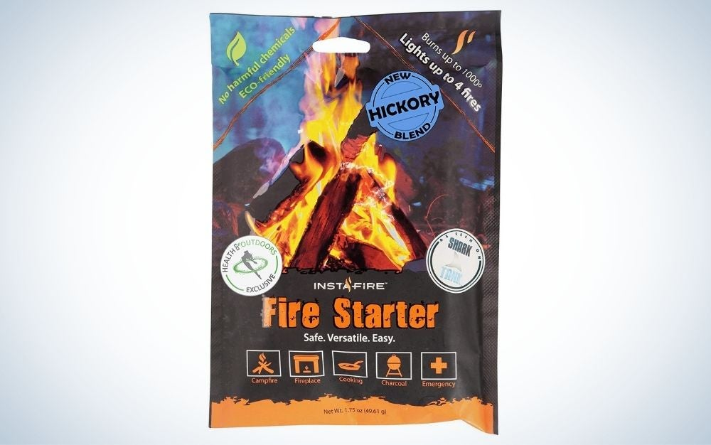 Instafire is our pick for best fire starters.