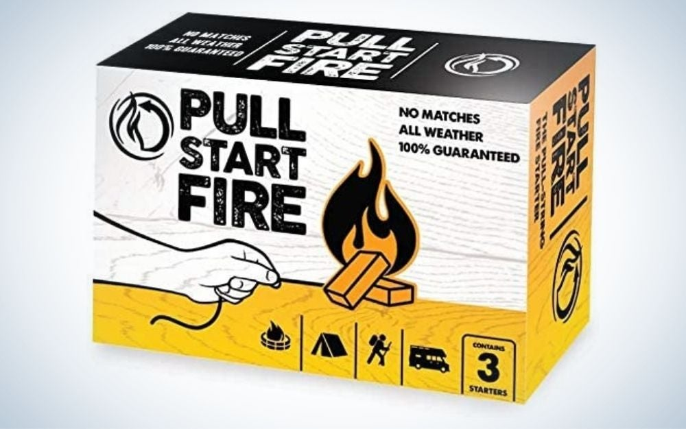 Pull Start is our pick for best fire starters.