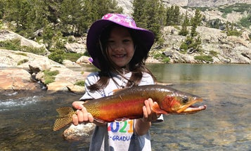 4-year-old Lands Record Golden Trout, Adding to Family's IGFA Honors
