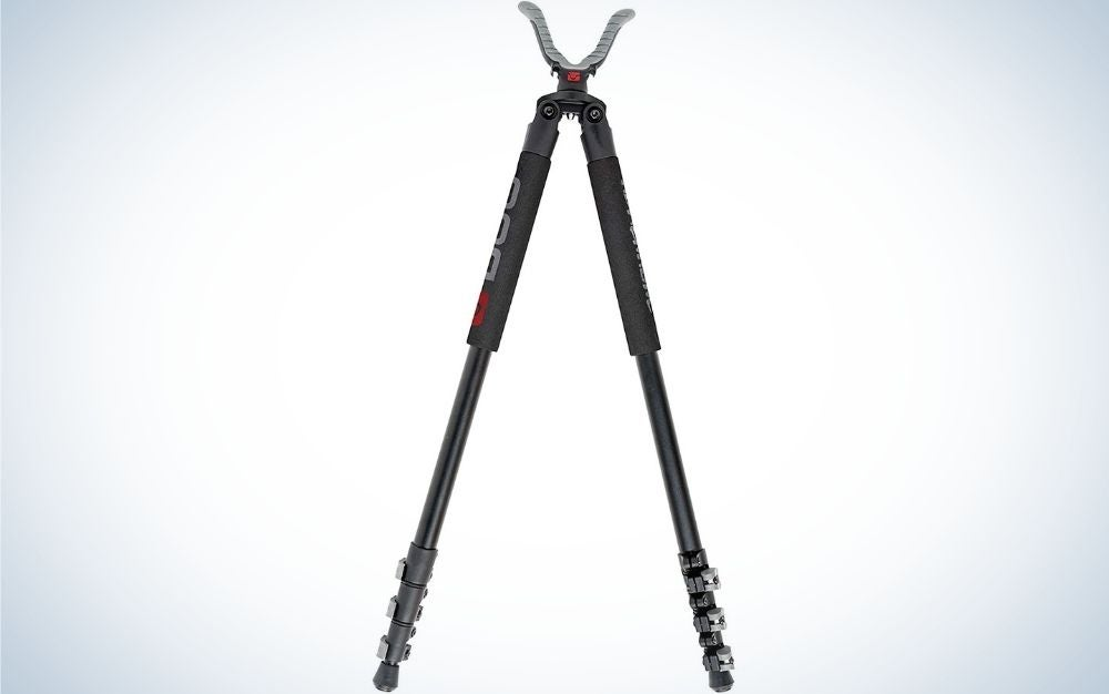 BOG Adrenaline is our pick the best hunting tripods.
