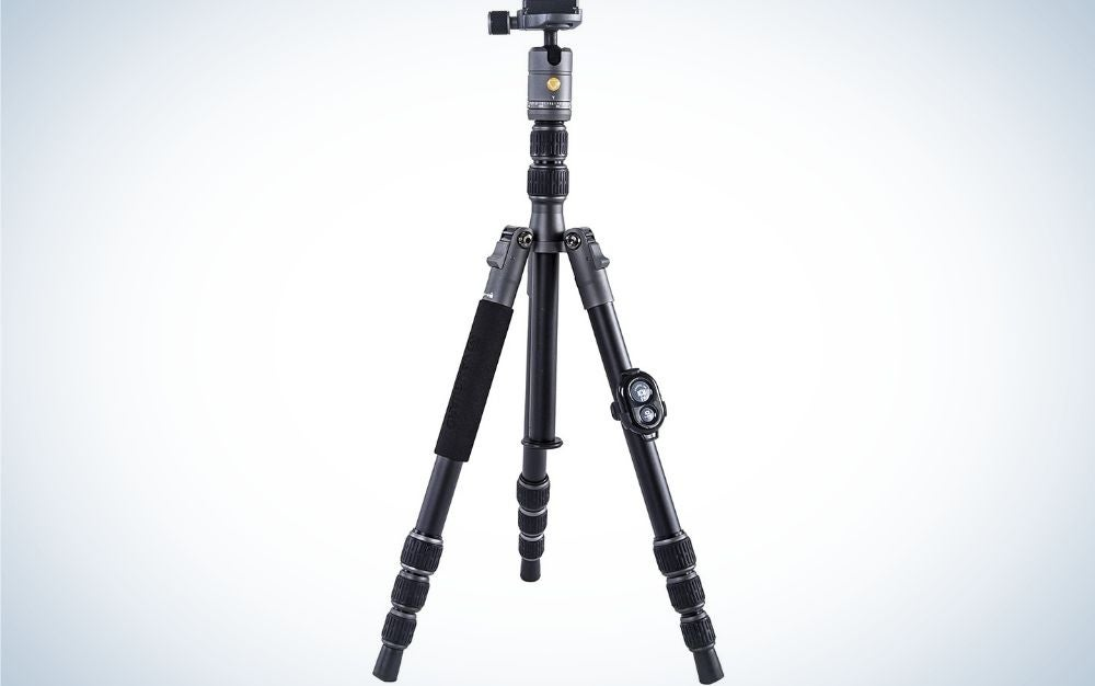 The Vanguard VEO is our pick for best hunting tripods.
