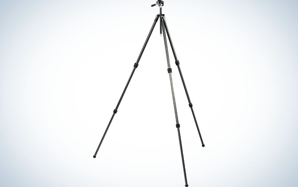 The Vortex Ridgeview is our pick for one of the best hunting tripods.