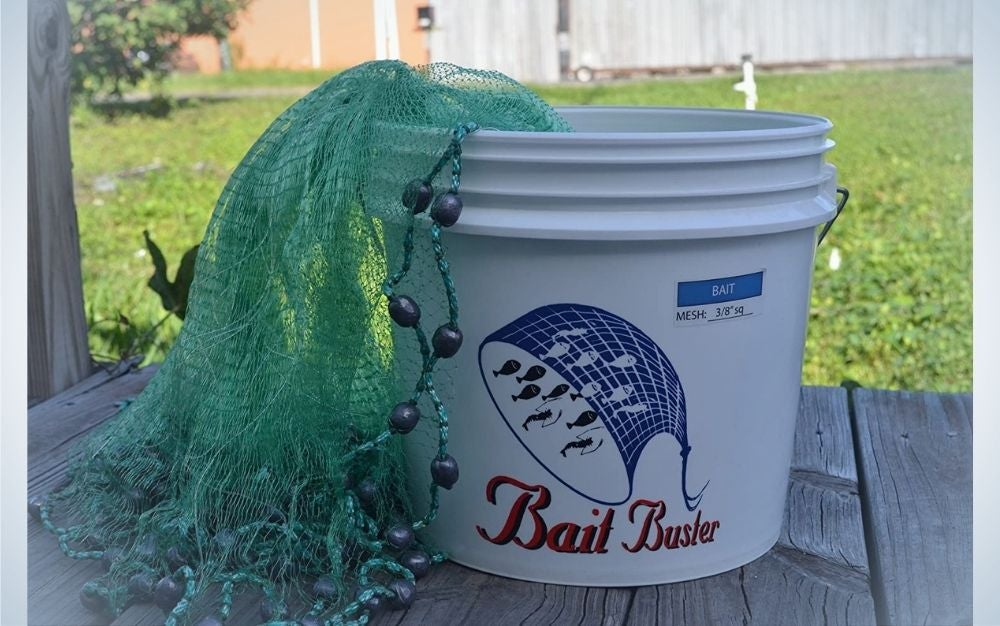 Bait Buster is our pick for best cast nets.