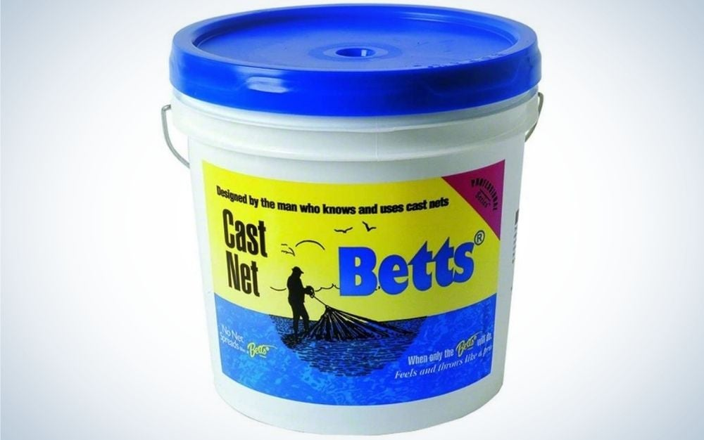 Bett's 18-7 is our pick for best cast nets.