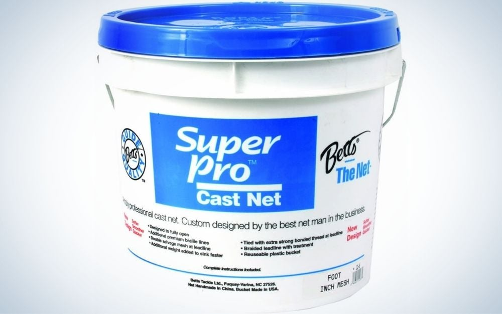 Bett's 24-8 is our pick for best cast nets.
