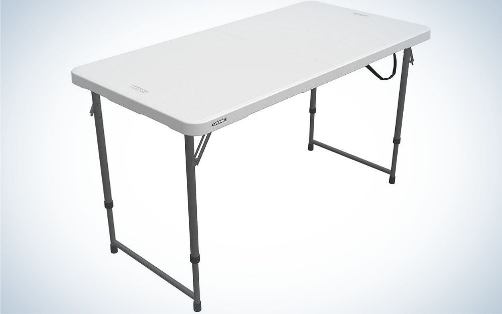 Lifetime 4428 is our pick for best camping tables.