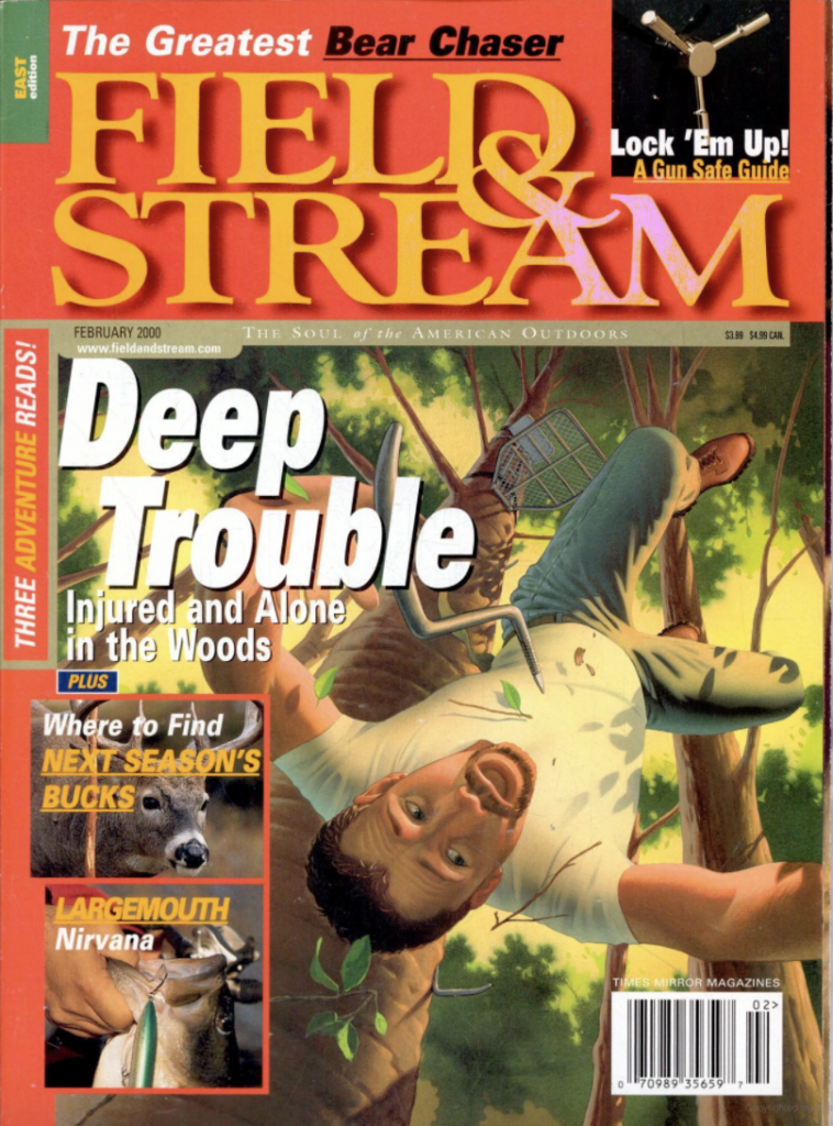 February 2000 cover of Field & Stream
