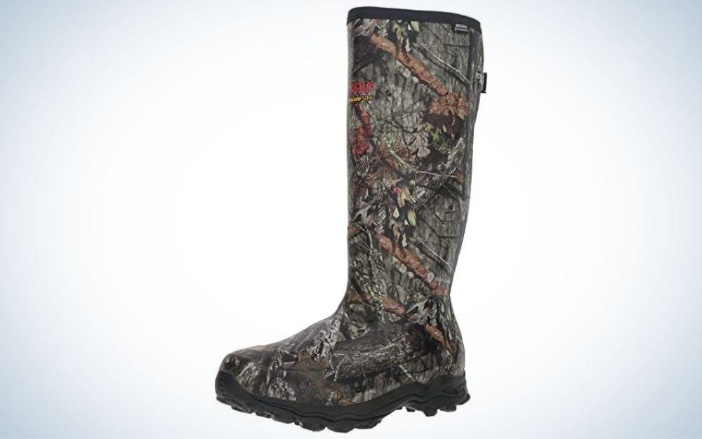 Mossy oak, waterproof rubber hunting boot