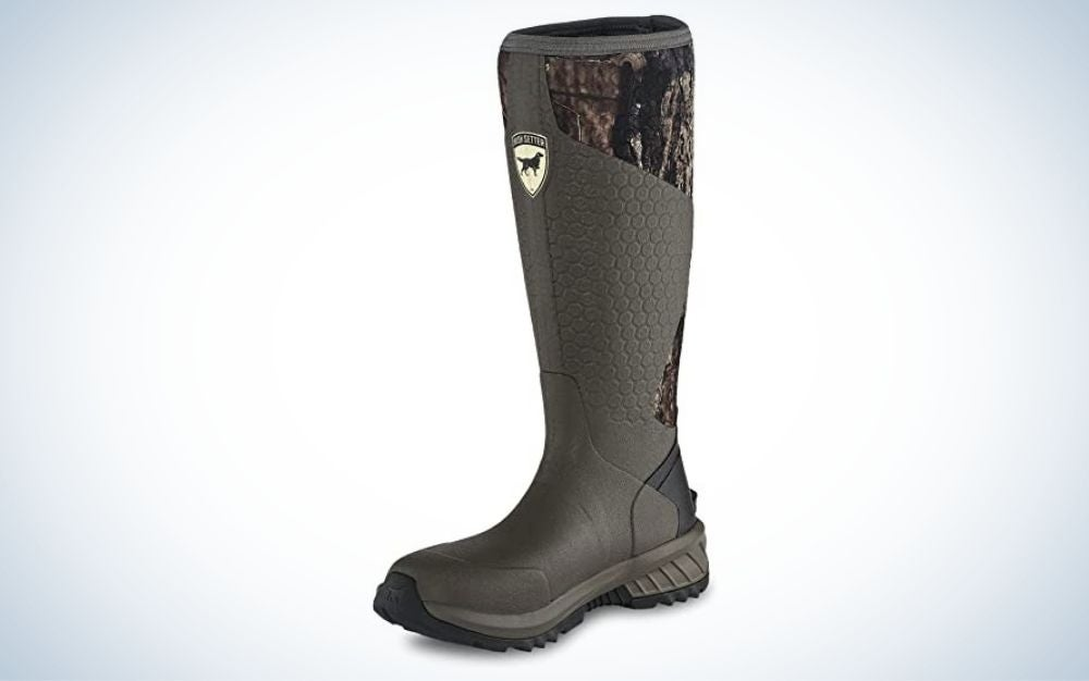 Mossy oak break up country, rubber hunting boot