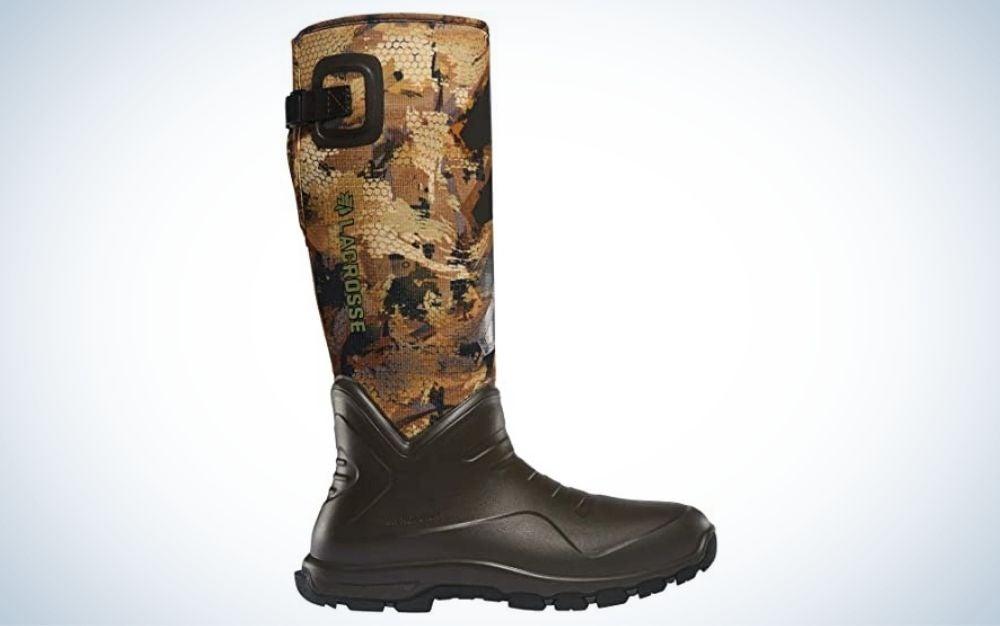 Gore optifade waterfowl marsh, waterproof, rubber hunting boot