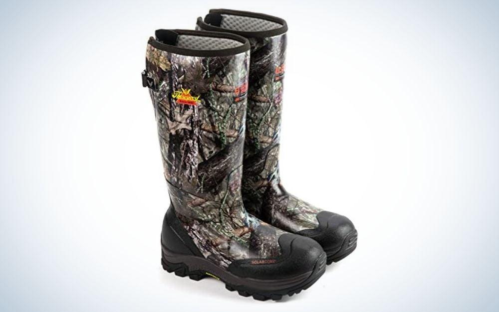 Waterproof rubber work boots