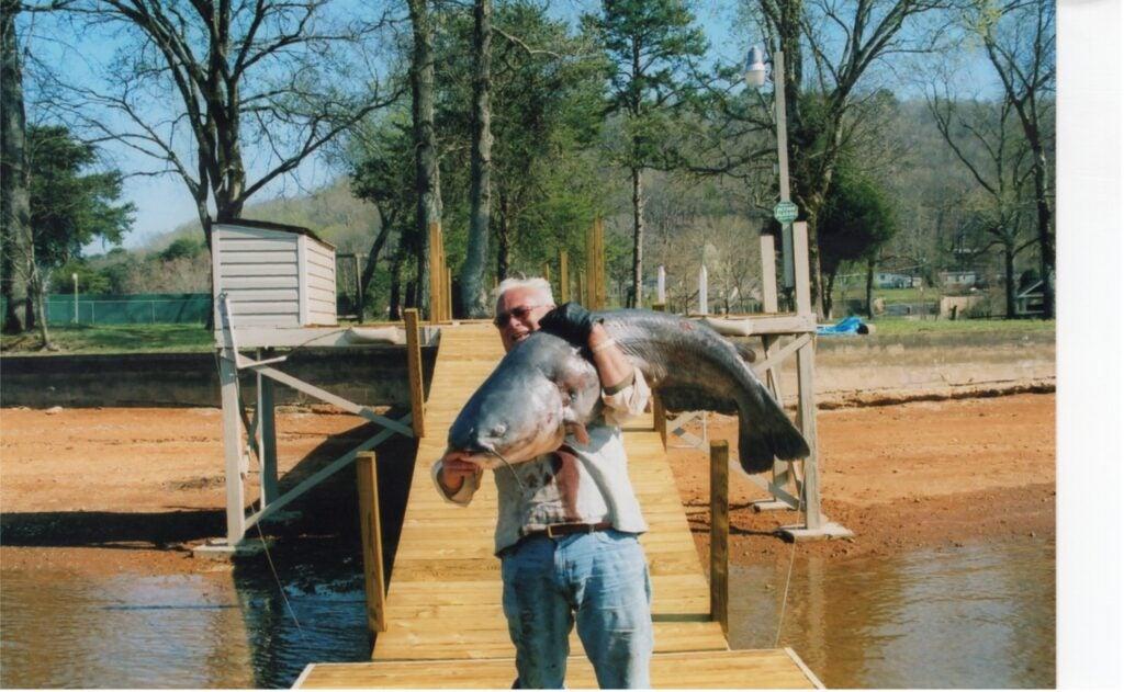 Eric Maurer's world record catfish