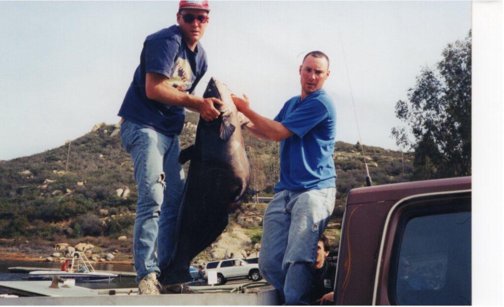 Roger Rohrbach's world record catfish