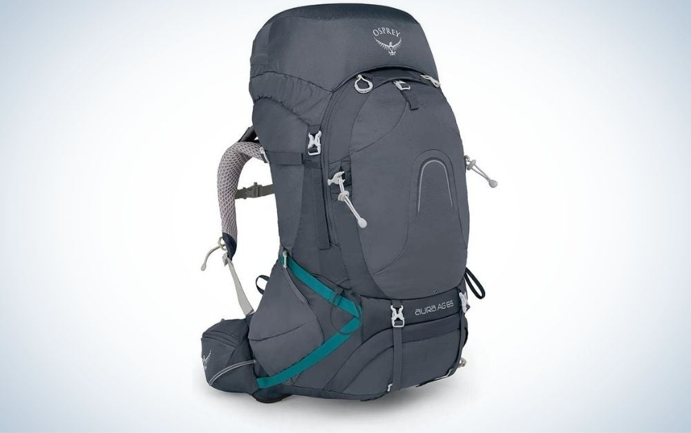 This Aura backpack is our pick for best internal frame backpack.