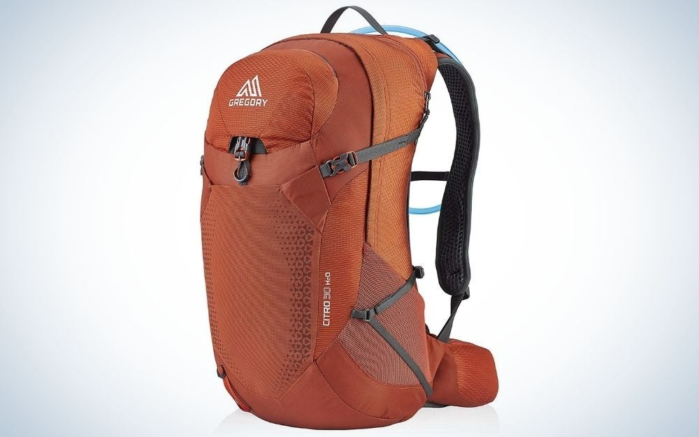 Gregory Citro H20 is our pick for best internal frame backpack.