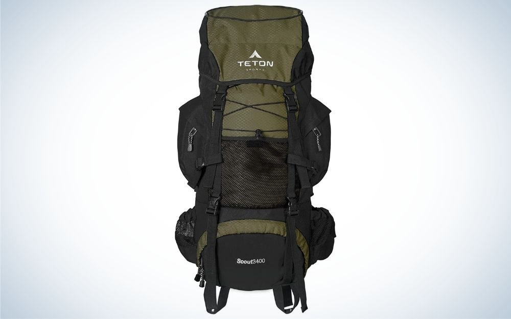 Teton Sports Scout is our pick for best internal frame backpack.