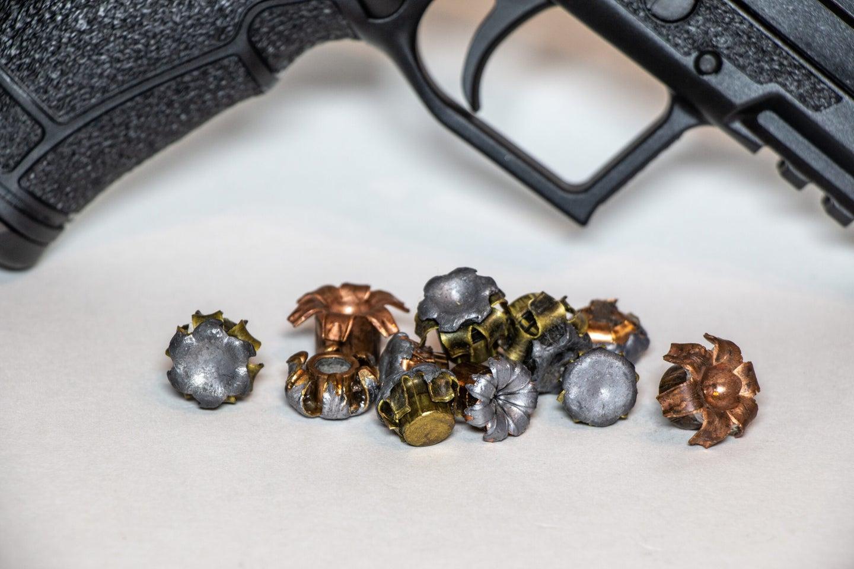 Defensive handgun bullets