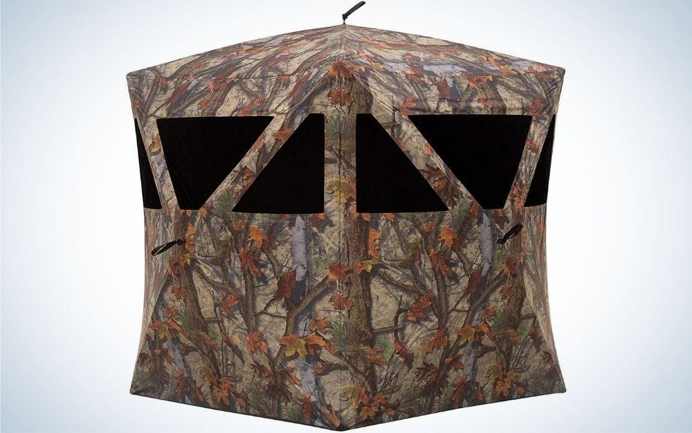 Barronett Road Runner is our pick for the best hunting blinds.