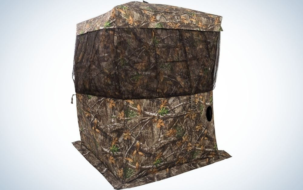 Browning Camping Powerhouse is our pick for the best hunting blinds.