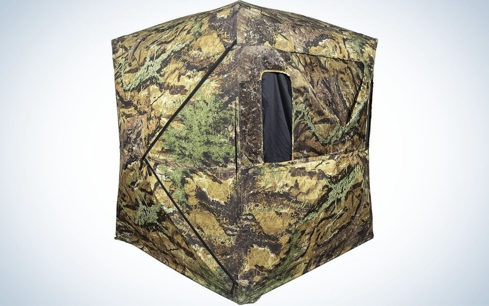 Primos Smokescreen is our pick for the best hunting blinds.