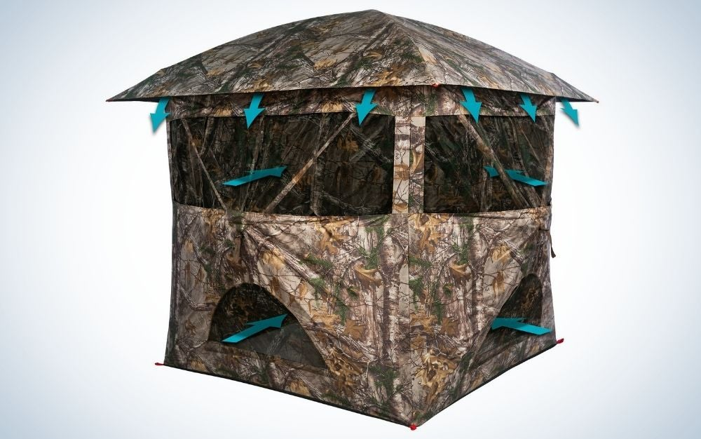 Primal the Breeze is our pick for the best hunting blinds