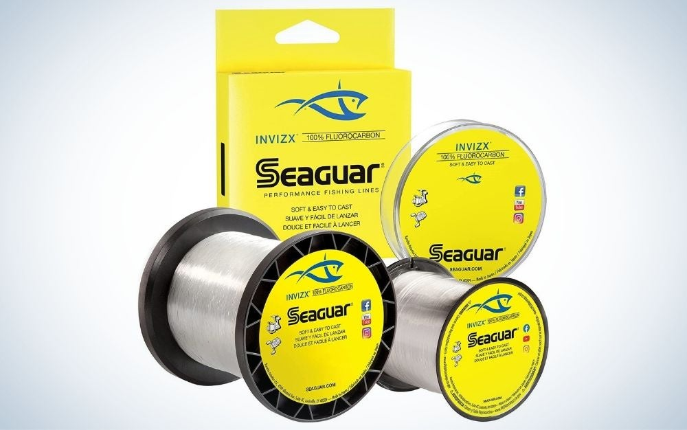 Seaguar INVIZX is our pick for best fishing lines.