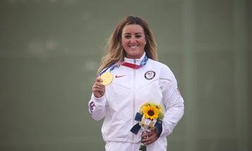 Q&A: Olympic Skeet Shooting Gold Medalist Lt. Amber English