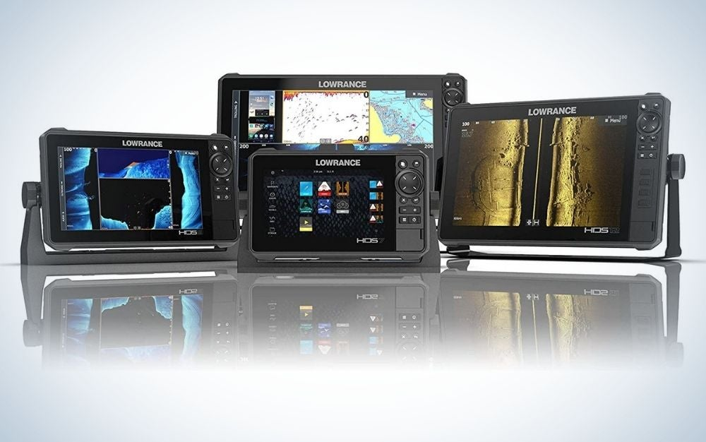 HDS 12 Lowrance fish finder