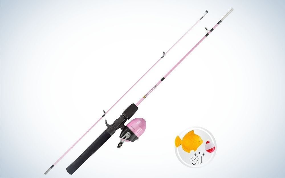Wakeman rod and reel combo is the best kids fishing pole for budget.