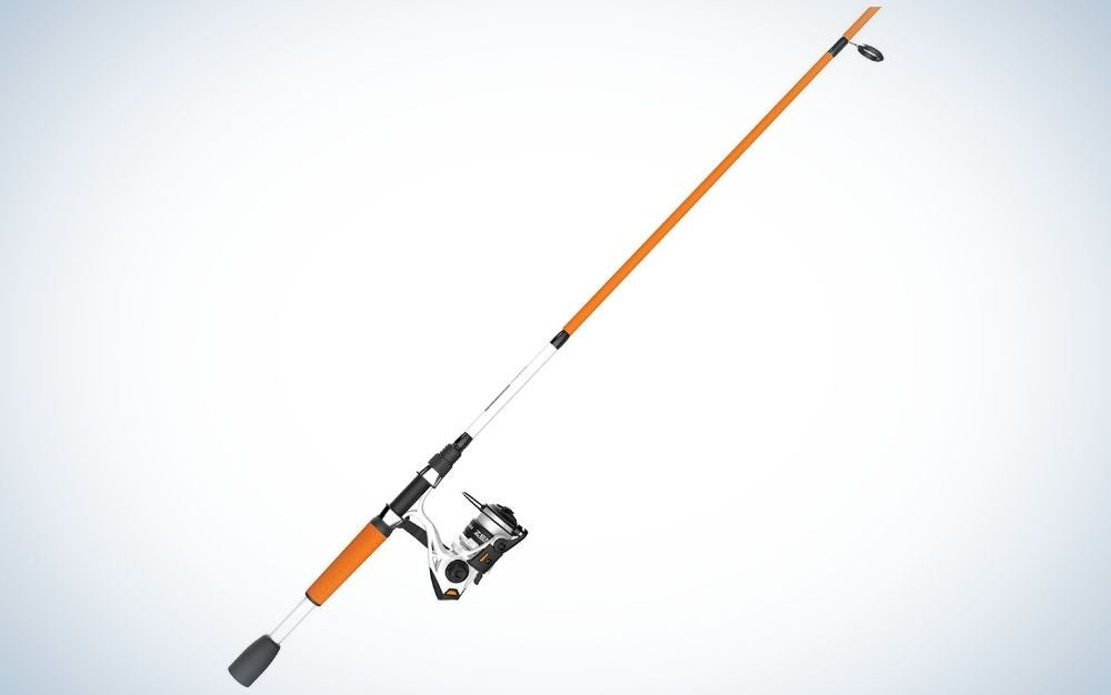 Zebco fishing pole is the best kids fishing pole for bass.